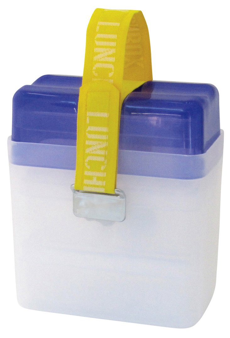 Lunchbox Deluxe, Clear/Purple