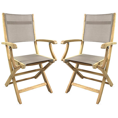 Stella Armchairs, Natural