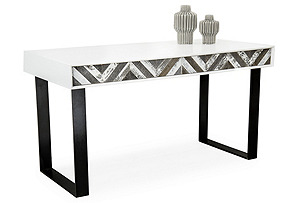 Capri Desk, White