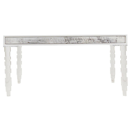 Cracow Dining Table, White