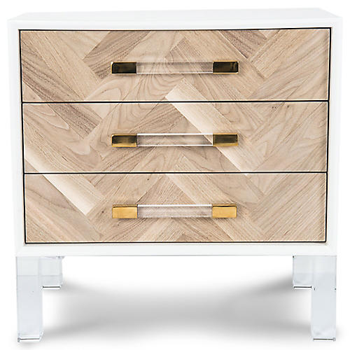 Amalfi Nightstand, White
