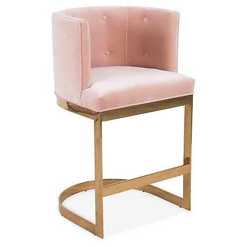 Pietro Barstool, Pink Velvet