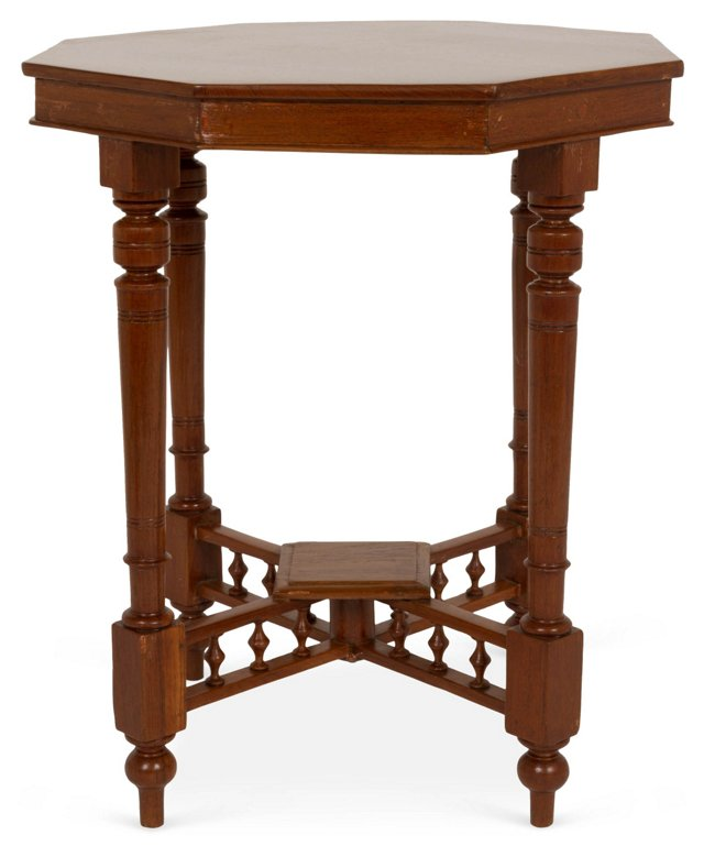 Octagonal Teak Wood Table