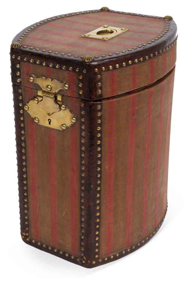 19th-C. Hat Box