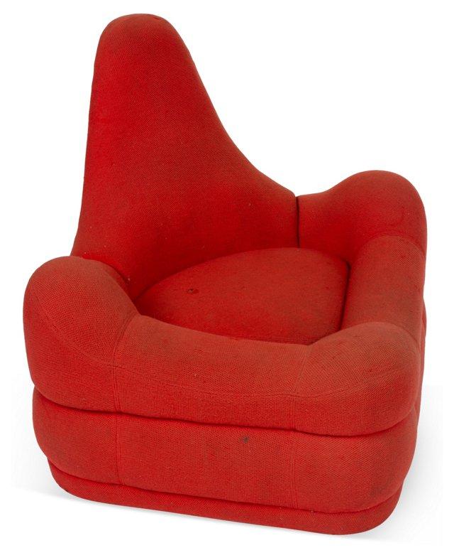 Italian G. Pesce-Style Chair