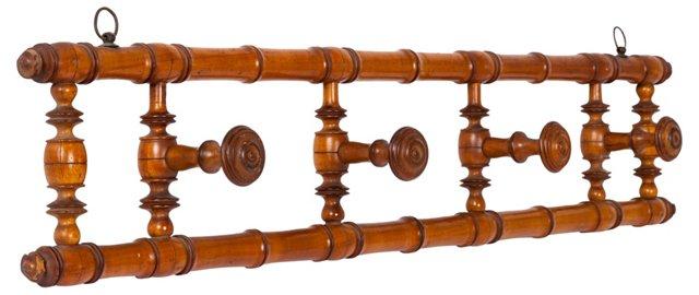 Wood Coat Peg
