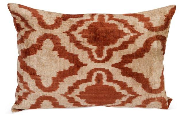 Brown/Cream Suzani Pillow