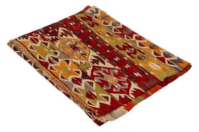 Turkish Wool Rug, 5.25' x 2.75'