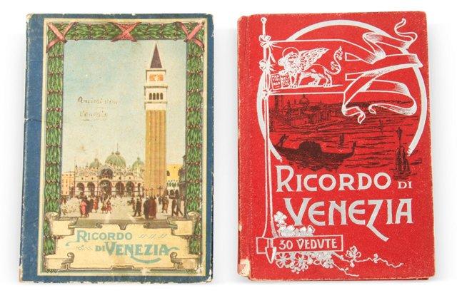 1910s Venezia Photo Books, Set of 2
