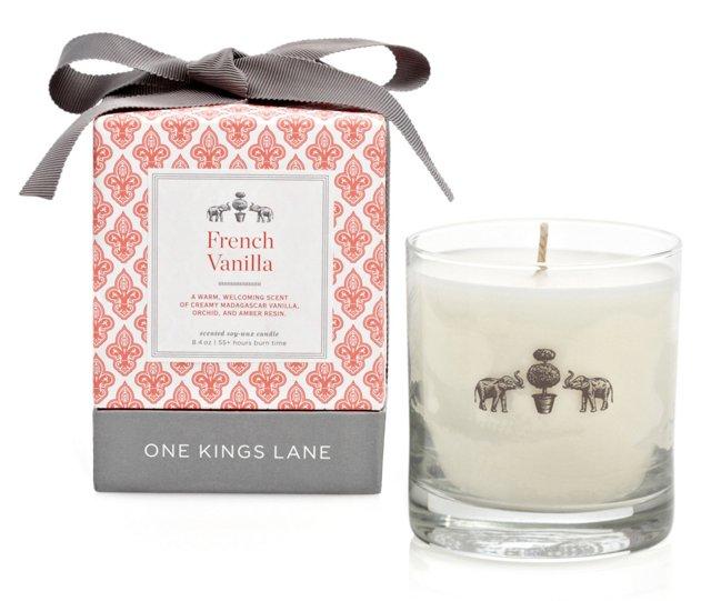 8.4 oz Candle, French Vanilla