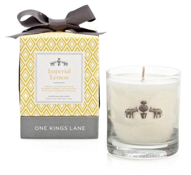 8.4 oz Candle, Imperial Lemon