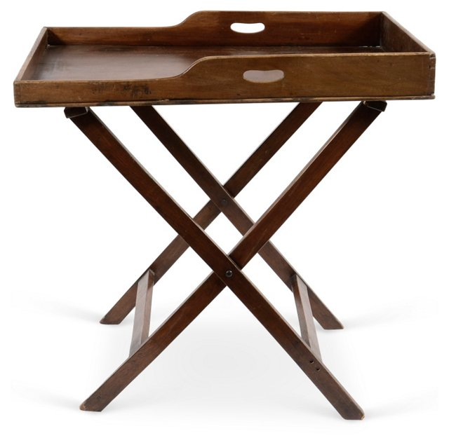 Large Butler Tray & Stand