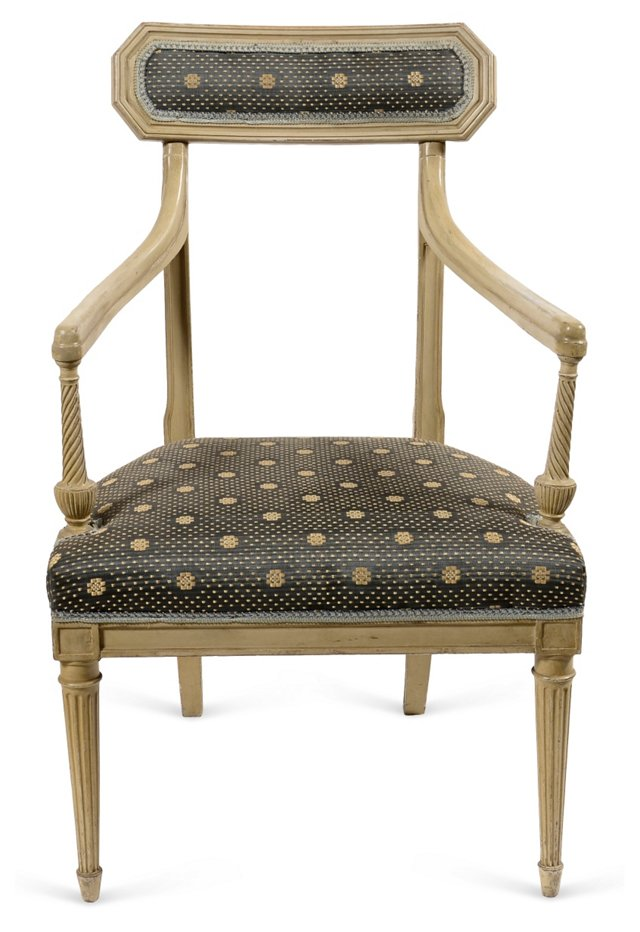 Directoire Chair w/ Horsehair