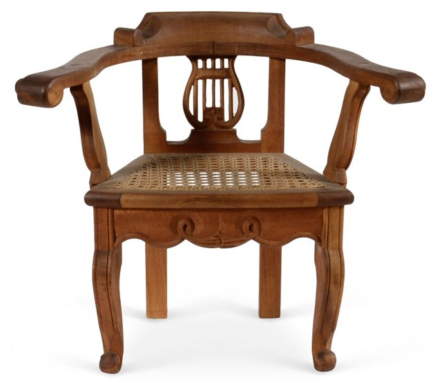 Lyre-Back Child's Chair