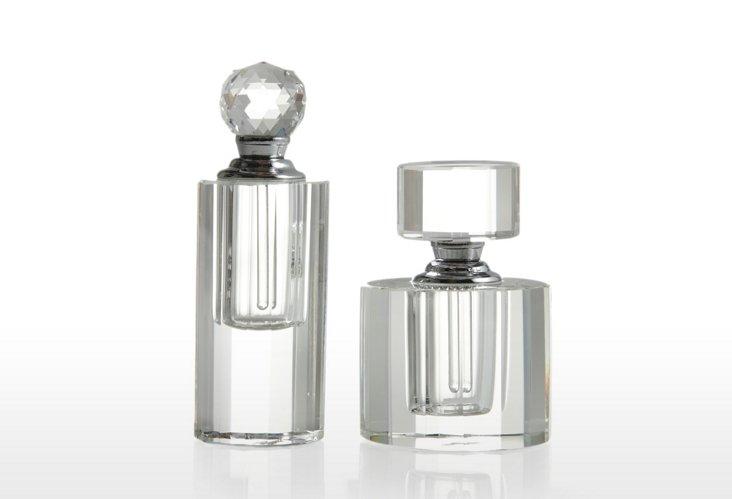 S/2 Perfume Bottles