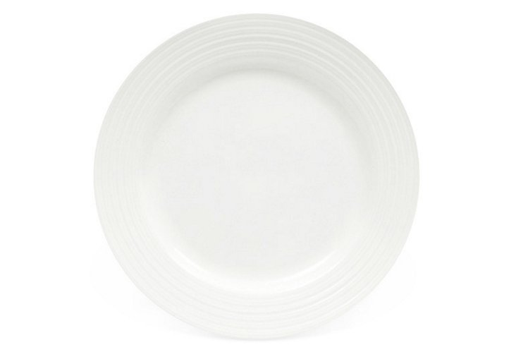 S/6 Cirque Side Plates, White