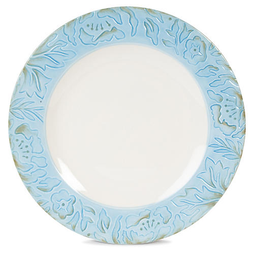 "Toulouse 11"" Dinner Plate, Blue"