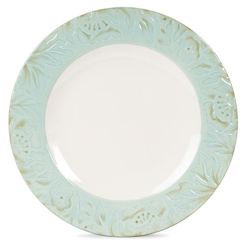 """Toulouse 11"""" Dinner Plate, Green"""