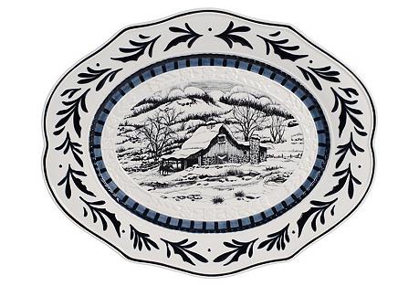 Bristol Holiday Platter, Winter