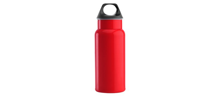 Classic Hydration Bottle, Short, Red