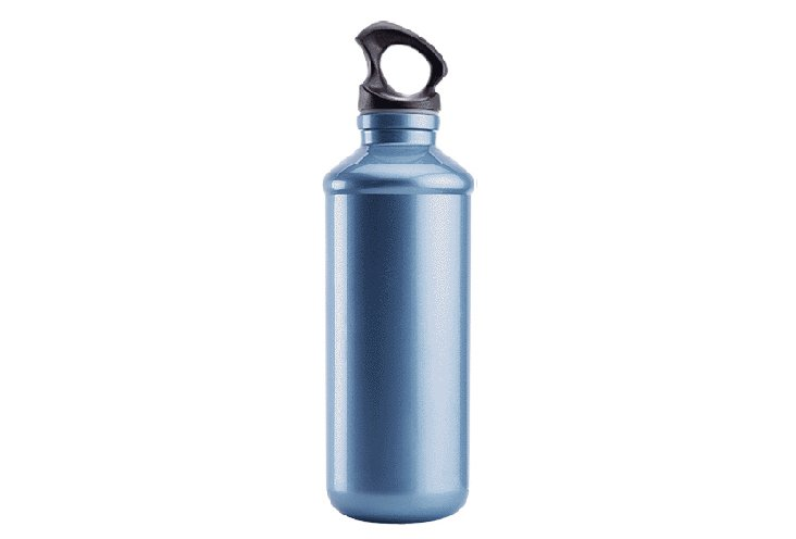 Chic Hydration Bottle, Tall, Ocean