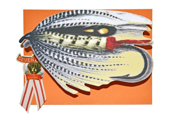 10 Correspondence Cards, Fishing