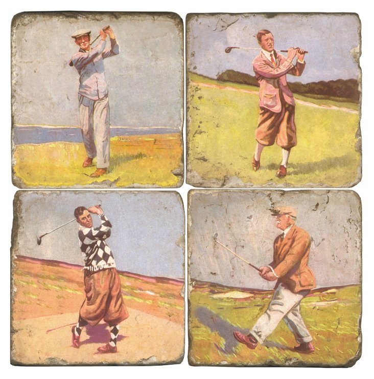 Marble Coasters, Golf