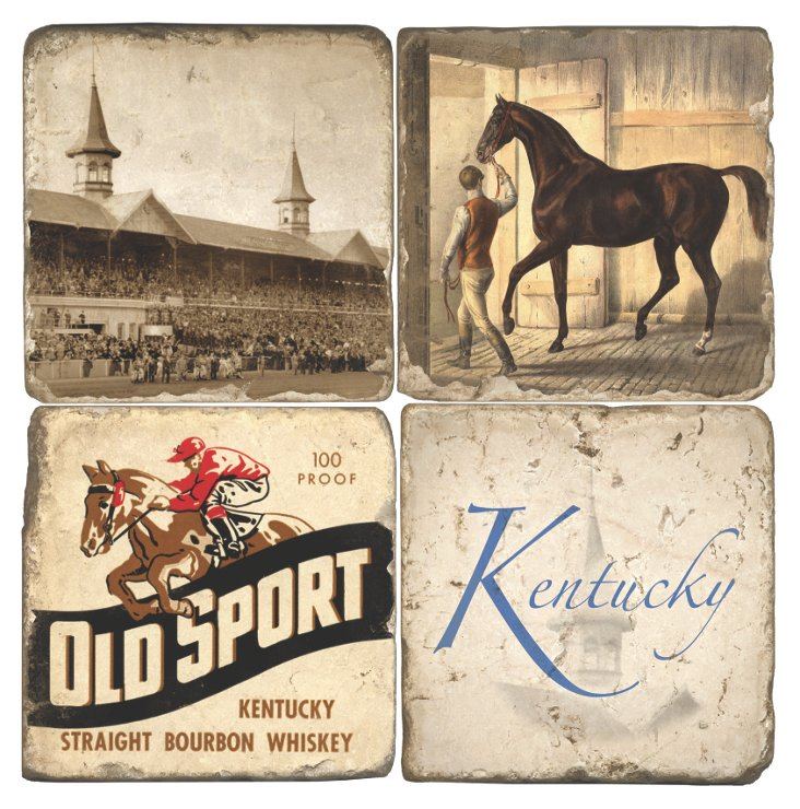 Marble Coasters, Kentucky Derby