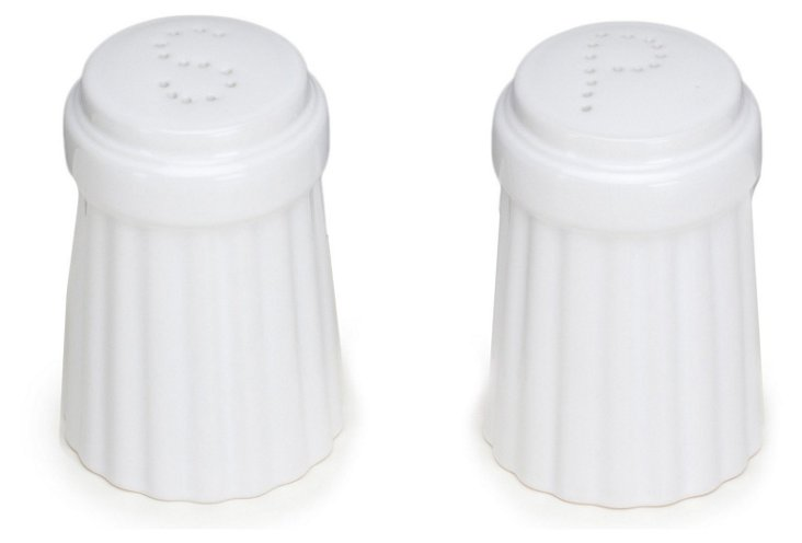 Salt & Pepper Set, White