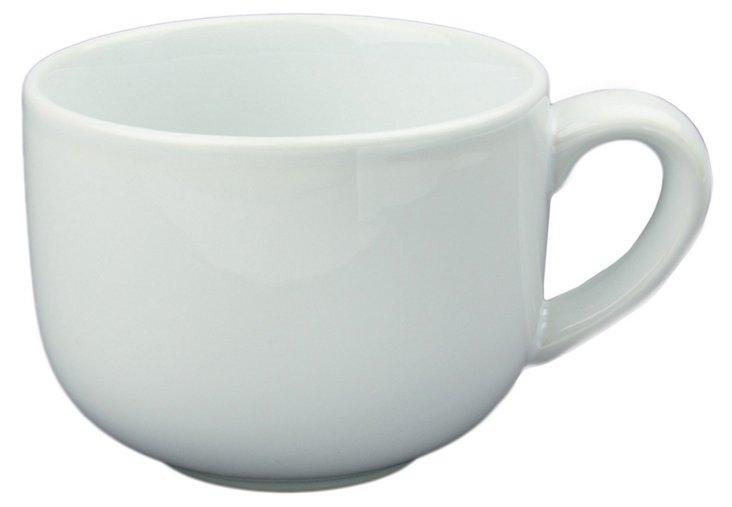 S/8 Latte Cups, White 24 Oz.
