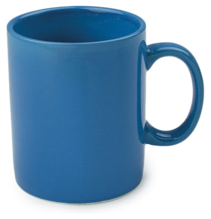 S/8 Blue Mugs, 11 Oz