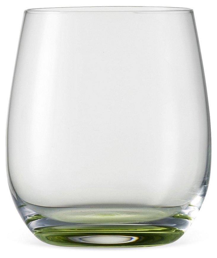 S/2 Jessica Tumbler Glasses, Green
