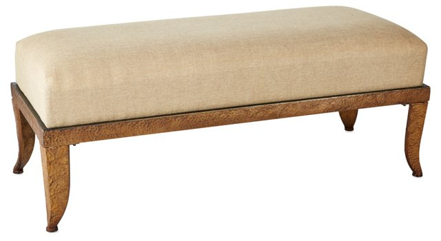 Lola Bench, Taupe