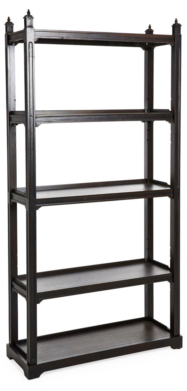 "Briony 78"" Bookshelf, Natural"