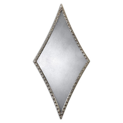 Empire Wall Mirror, Silver