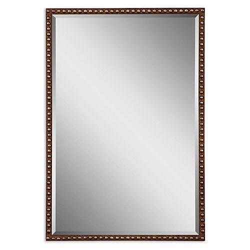 Metcalfe Wall Mirror, Rust