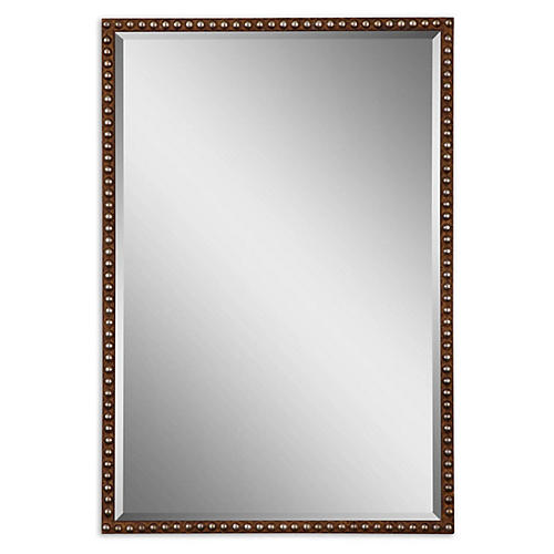 Metcalfe Wall Mirror, Rust