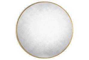 Round Mirror, Gold