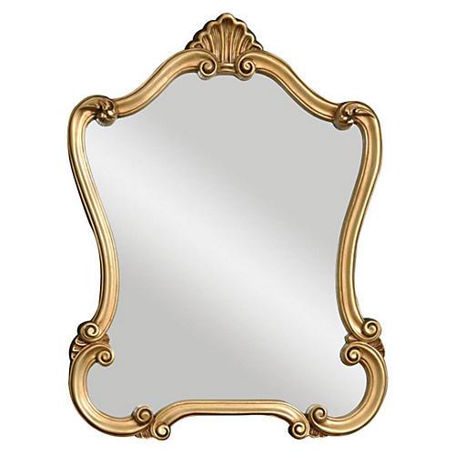 Warsaw Wall Mirror, Gold