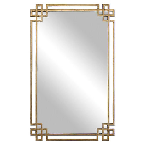 Evelyn Wall Mirror, Gold