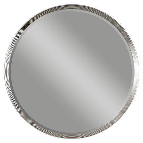 Twana Wall Mirror, Silver