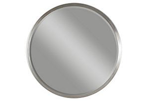 Round Mirror, Silver