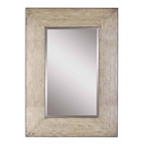 Dublin Floor Mirror, Gray