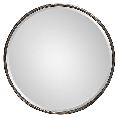 Celina Wall Mirror, Graywash