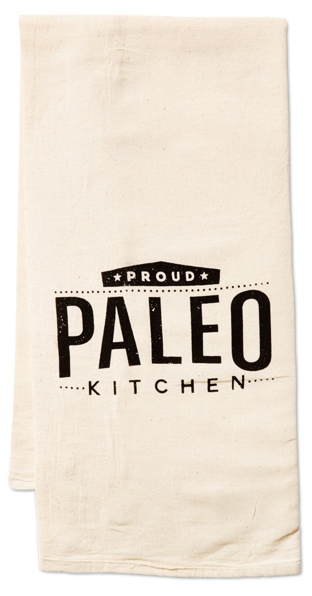"""Proud Paleo"" Kitchen Towel"