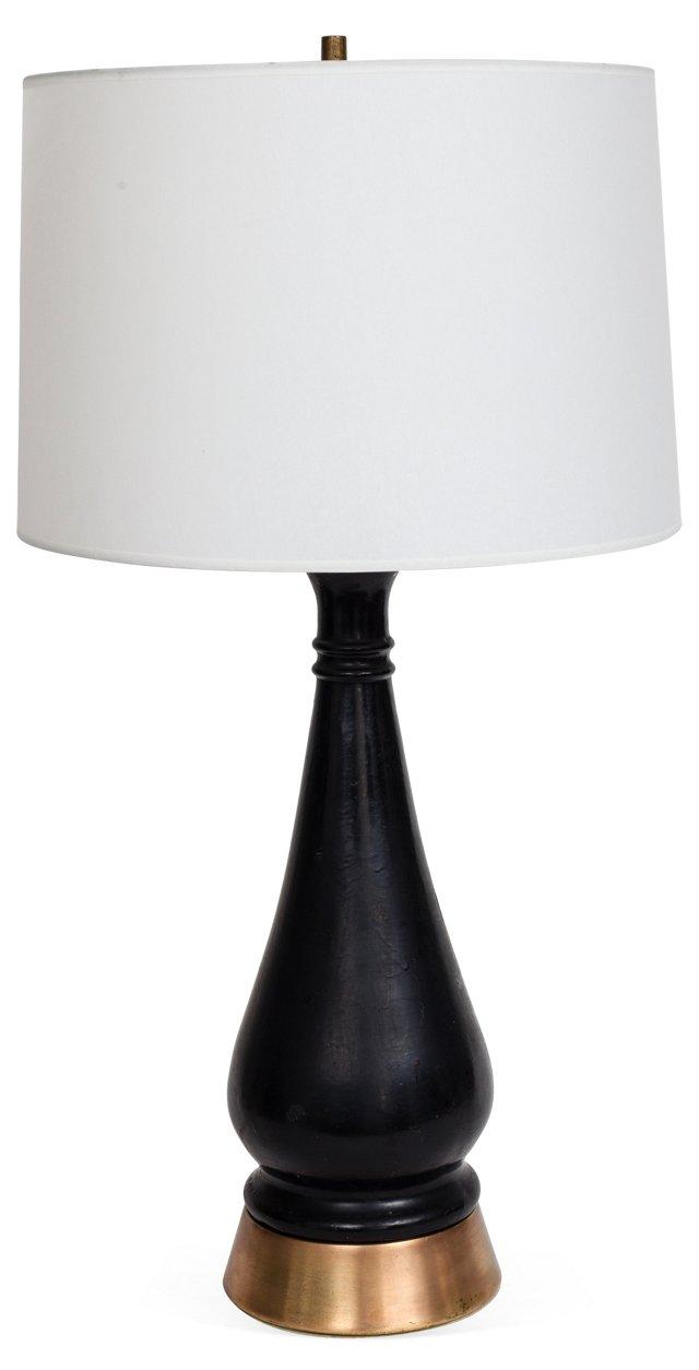 1960s Curvaceous Lamp