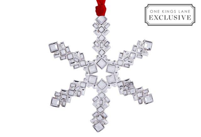 Silverplate Celeste Ornament