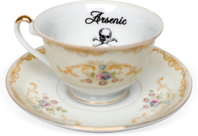 Arsenic Teacup & Saucer