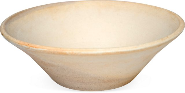Hand-Thrown Low Planter