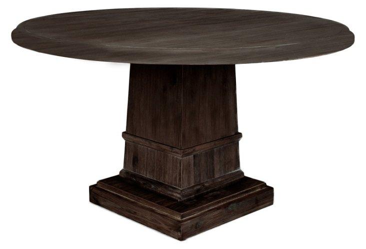 "DNU Hudson 54"" Dining Table, Espresso"